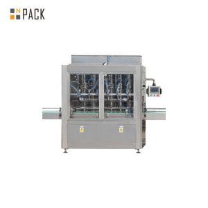 1 - 5л цайруулагч цэвэрлэгчдэд зориулсан PLC Control 10 толгой хүндийн савны лонх дүүргэх машин