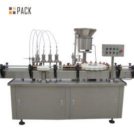5-100ML вакуум үнэртэй ус дүүргэлт ба хавхлагын машин. Том хүчин чадалтай