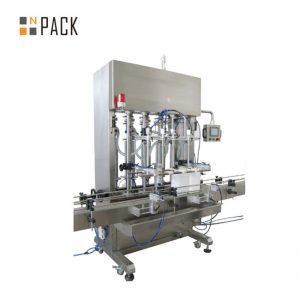 500ml-5L автомат 6 толгой оо дүүргэгч машин Servo системээр конвейер PLC хяналттай тос