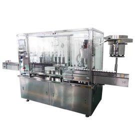 Эмийн үйлдвэрлэлийн шугамд зориулагдсан 8 толгой сиропын автомат бөглөх ба шахах машин
