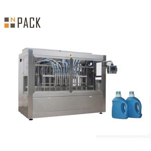 Ариун цэврийн цэвэрлэгч / идэмхий шингэн 500ml-1L-ийн автомат таталцлын лонх дүүргэх машин