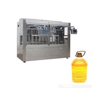 Поршений дүүргэлт машин ба шилний автомат шошго бүхий үйлдвэрлэлийн автомат шингэн шингэн шугам