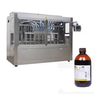 Бүрэн-Автомат-Пестицид-Лонх-бөглөх шугам